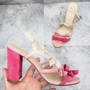 J.CREW Collection Stella Bow Heels